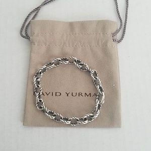 David Yurman 8mm Twist Link Chain Bracelet